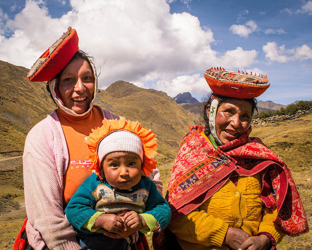 Women of the Andes