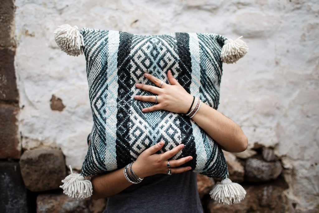 An Insider Look at our Oh-So-Soft, Huggable Alpaca Pallay Throw Pillow!