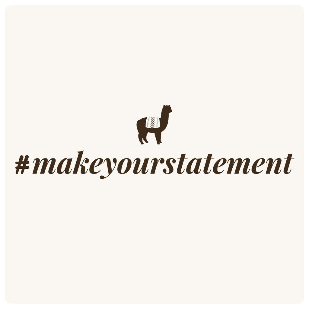 #makeyourstatement