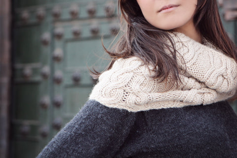 luxurious alpaca winter scarves from Mayu are hand knitted by talented indigenous women