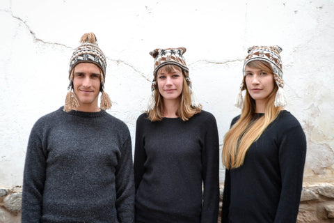 Peruvian ear flap hats