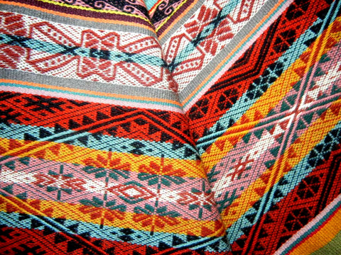 Andean textiles tell stories… literally! – Threads of Peru