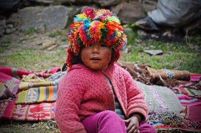 Child in Andes