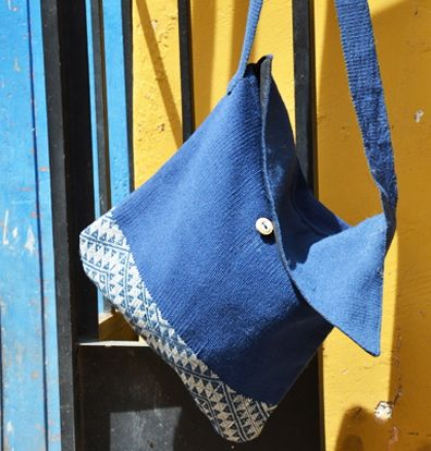 The traditional and fashion forward ILLAWA bag, from fellow NGO Q'ente, was designed by Master Weaver, Andrés Sallo, from the small town of Huaran