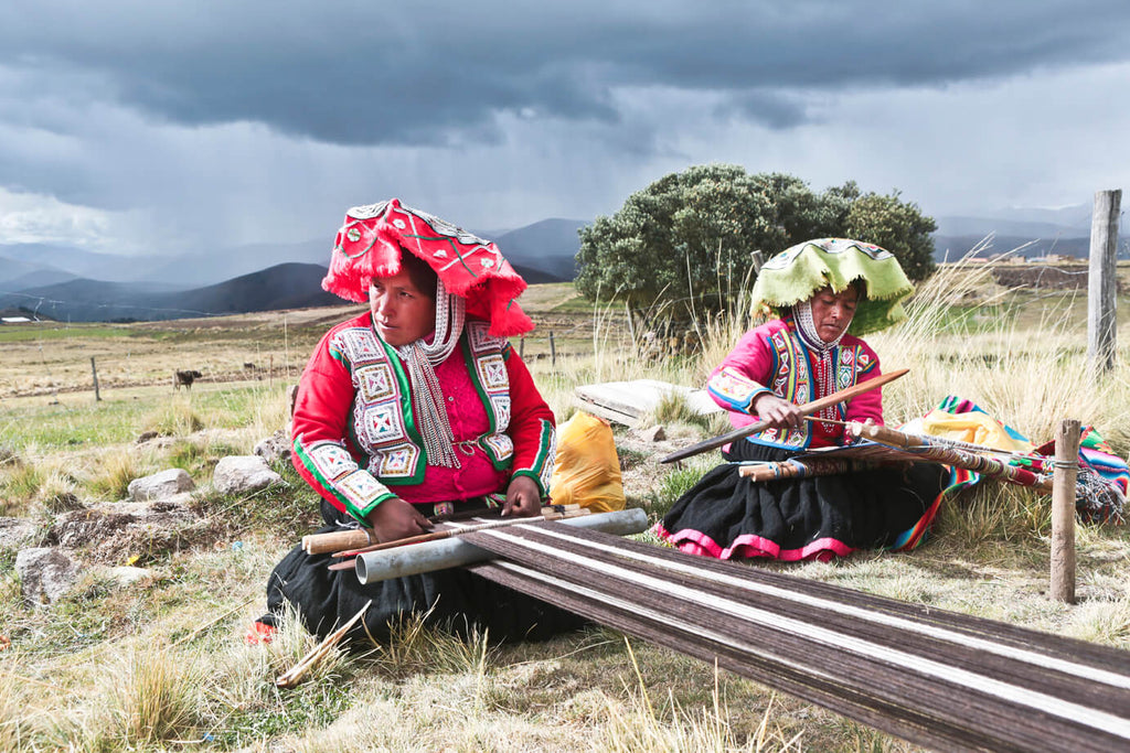 economic sustainability weaving in peru
