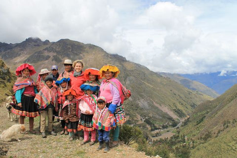 Threads of Peru makes regular visits to the communities we work with