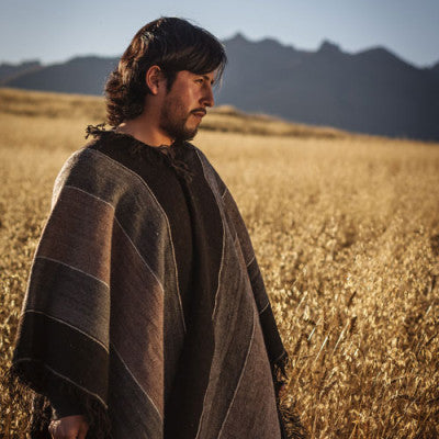 The ponchos featured in our 2013-2014 Wholesale Catalog are slightly modern twists on ancient fashion, as featured here with our Jose Luis 100% Alpaca Poncho. Contact us for your own copy of our catalog!