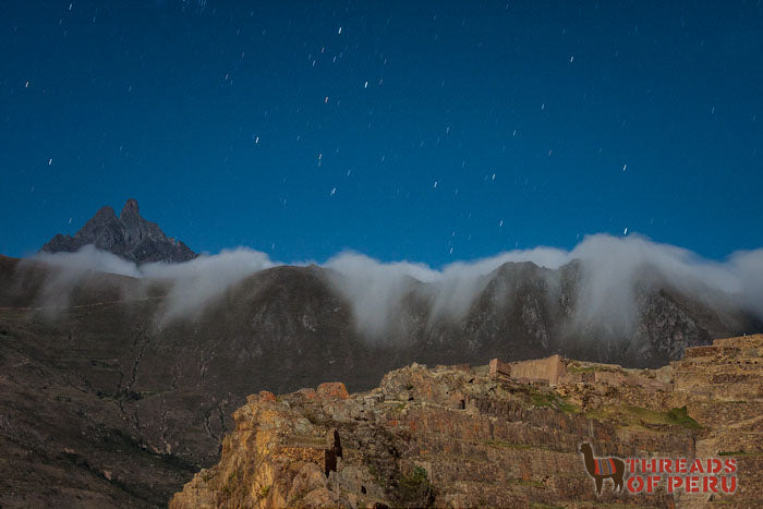 Cloud Mountains at Night
