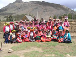 The weavers of Chupani, Chaullacocha and Chayhuatire