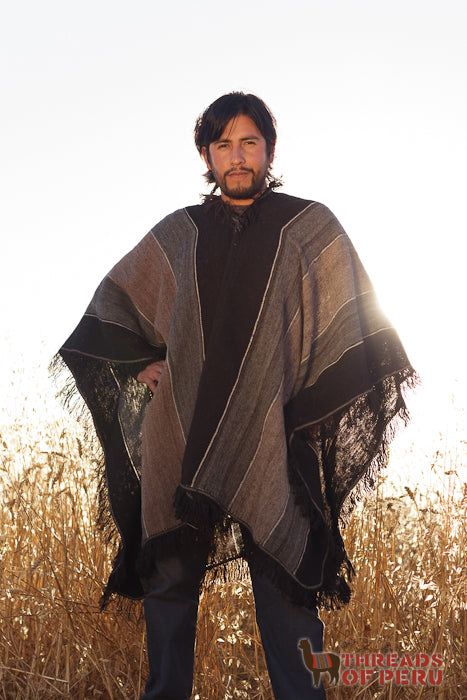 Man with Poncho