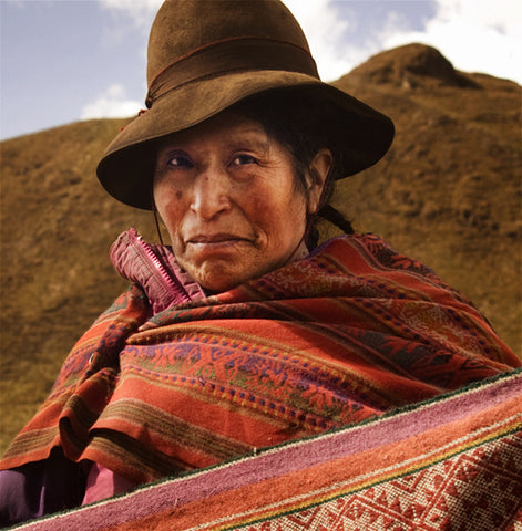 Isabel Mamani, President of The Chaullacocha Weavers Association. Photo by Michael Marquand