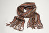 Nilson 100% Hand Woven Baby Alpaca Scarf -Sunrise (warm colors)