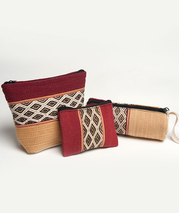 Andean Accessory Set- Crimson