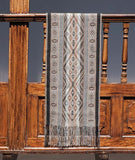 Master Weaver Table Runner- Onyx and Charcoal