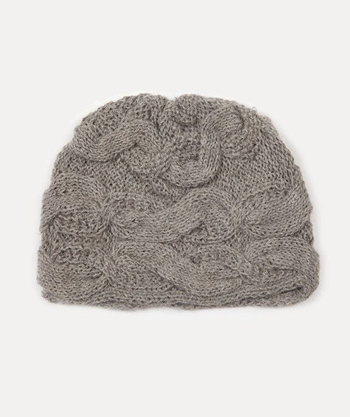Aces Winter Alpaca Hat (Ash Grey), Aces Winter Alpaca Hat (Ash Gray), Ash Gray Soft Alpaca Winter Hat