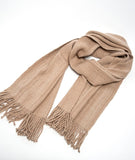 Miski Wide Baby Alpaca Scarf - choose from 5 colors