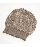 Alpaca Wool hats – traded fairly in Peru – Alpaca Wool Beanie, funky fibre blend Winter Hat, Rabbit and White Alpaca Wool Hat Blend