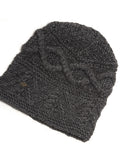 Alpaca hats – traded fairly in Peru – Alpaca Beanie, classic and modern, Warm Winter alpaca Hats – Charcoal Grey