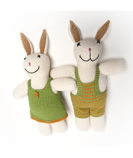 Benito & Daniela Soft Stuffed Bunny Rabbit