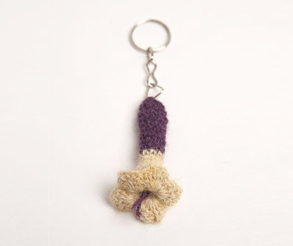 KANTU Knit Flower Keychain (sets of 3)