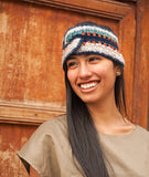 Gran Knit Alpaca Headband (White, Brown, Black)