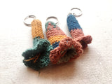 KANTU Knit Flower Keychain (sample)