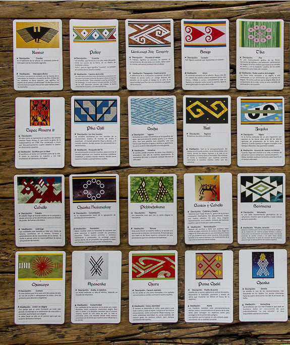 """Wisdom Cards"", Designs of the Andes"