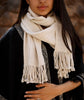 Miski Wide Baby Alpaca Scarf - choose from 6 colors
