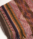 Parobamba Master Weaver 100% Alpaca Table Runner- Warm colors, Inca Design