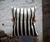 Picchu Striped Wool Pillow
