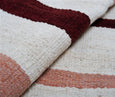 Picchu Wool Area Rug and Throw Pillow Set