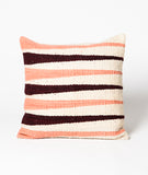 Wool Cushion Cover in Pink