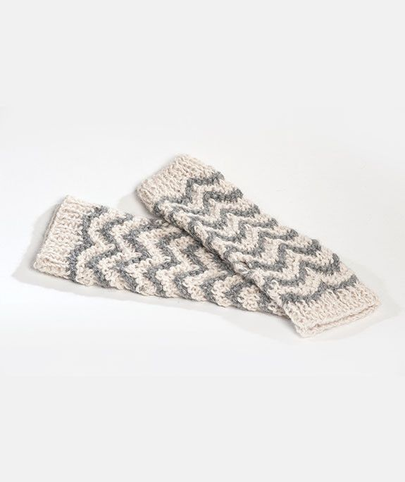 Roma Alpaca Fingerless Gloves