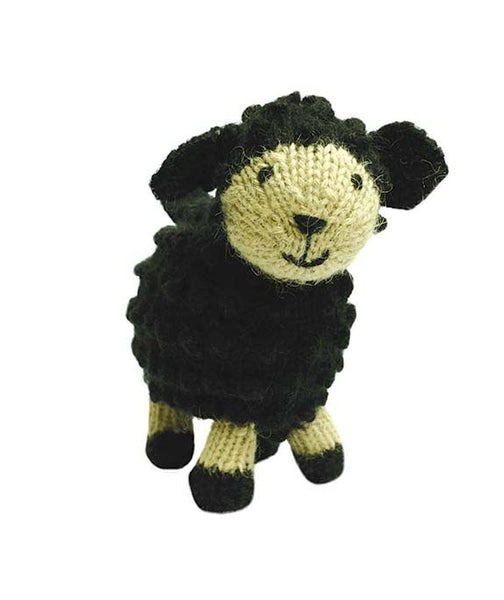 Sara Wool Handknit Black Sheep- Peru