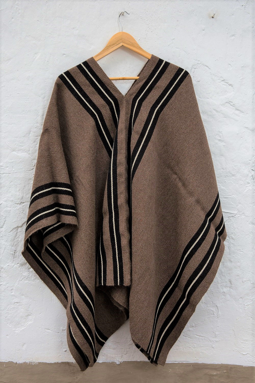 South American Poncho - Vicuna