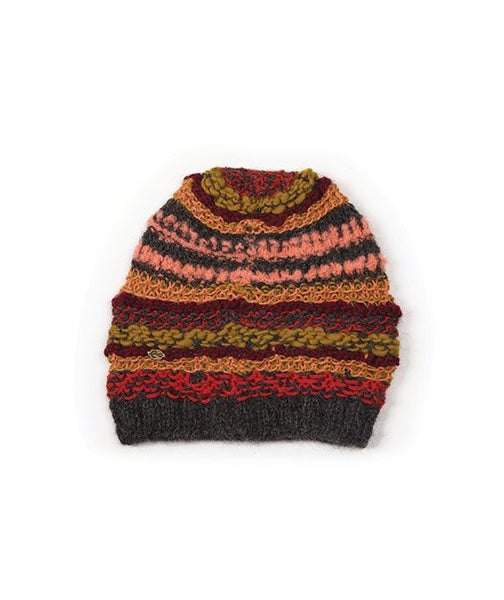 Folk Mixed Color Winter Beanie