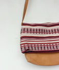 Crossbody Wool Bag - Pink & Purples