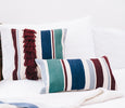 Qura Fringe & Lumbar Pillow Set