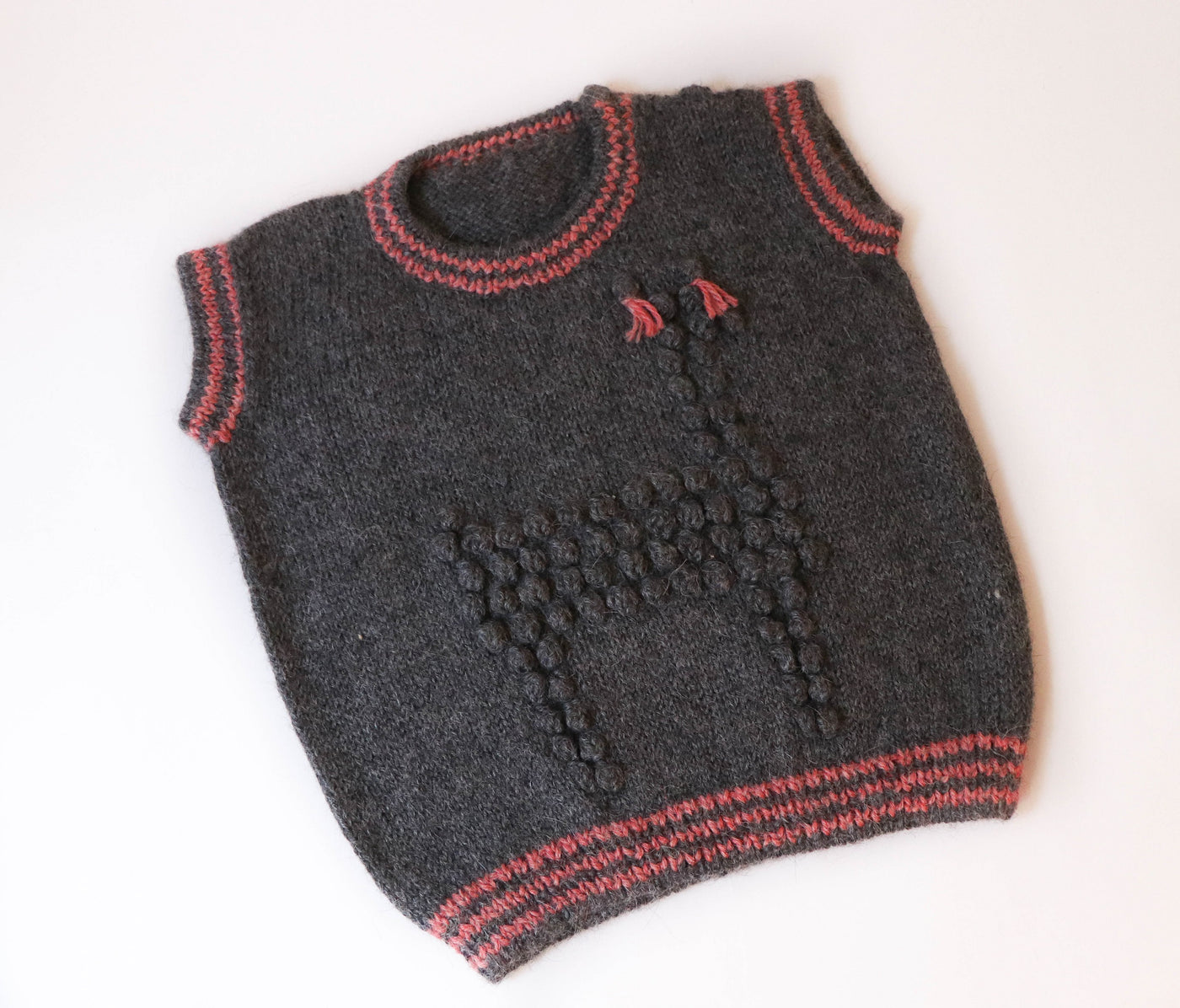 Girls Alpaca Toddler Vest