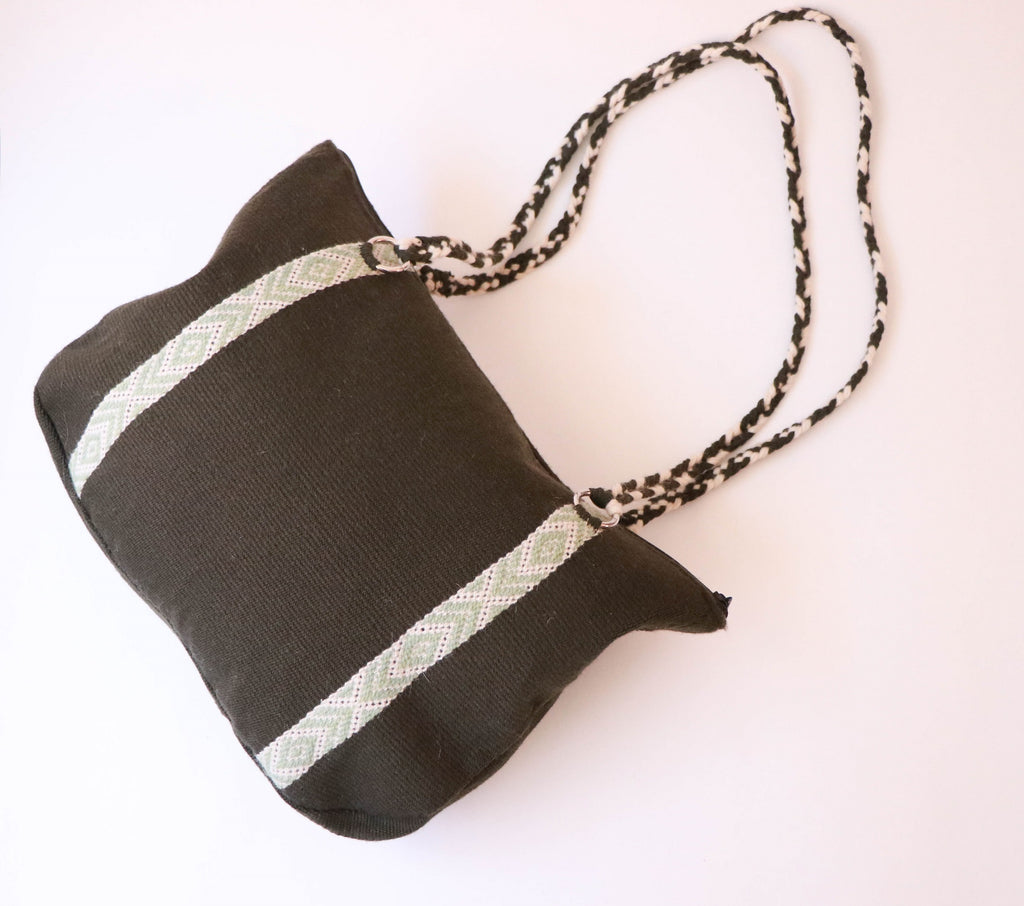Wool Shoulder Bag