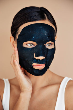 3 step Brightening+ Charcoal Mask
