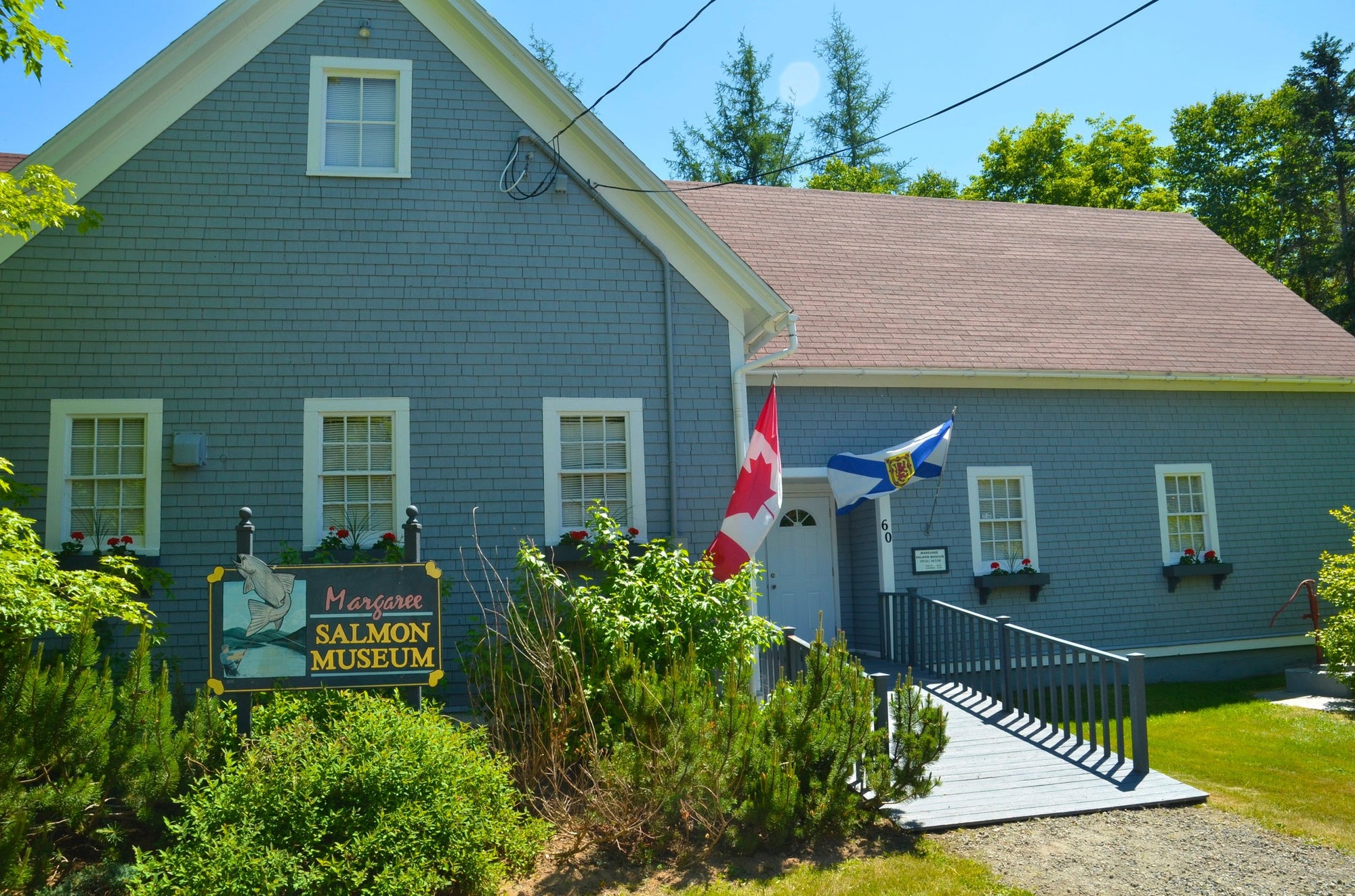 The Margaree Salmon Museum