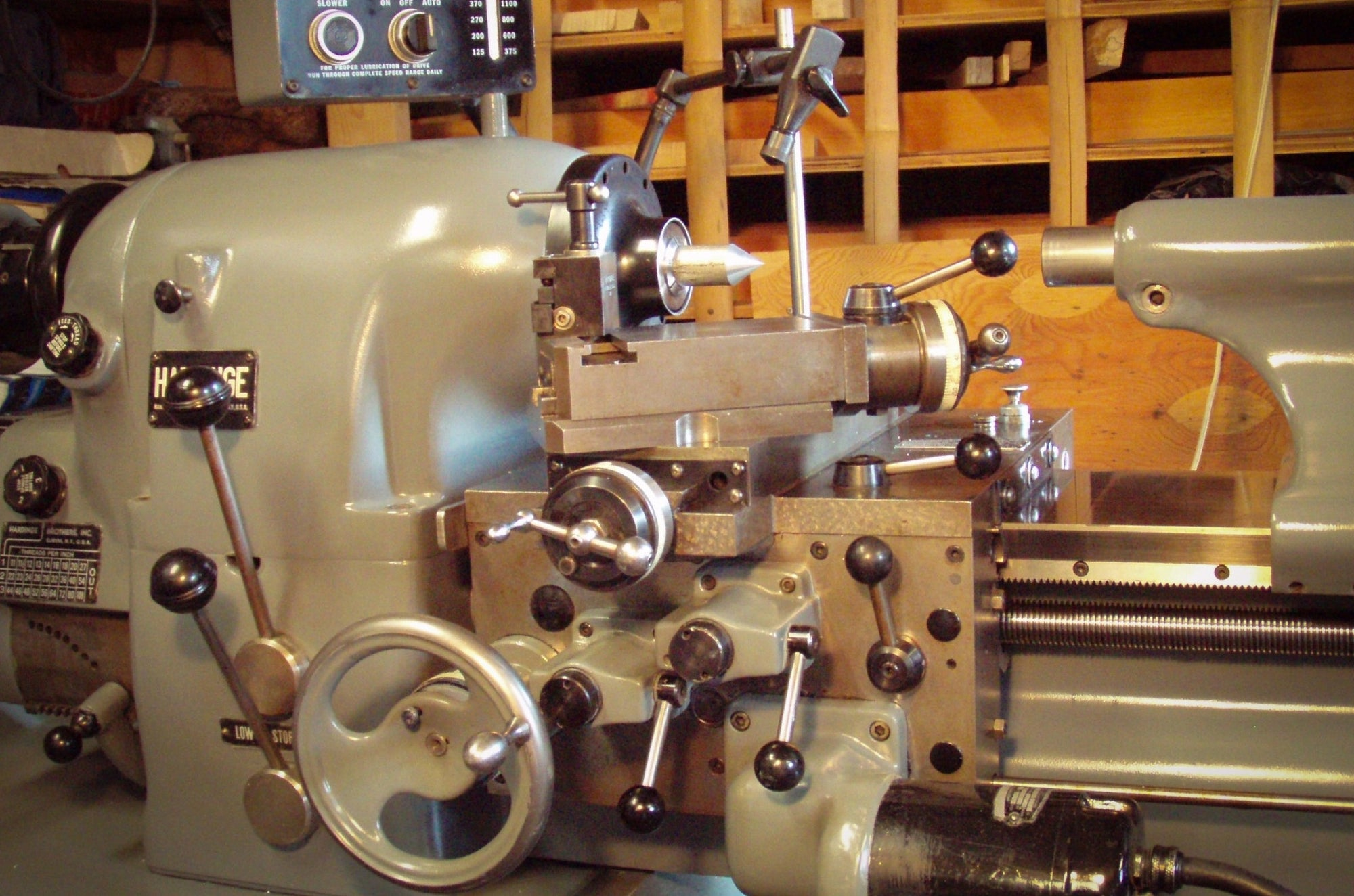 New Lathes for a New Year