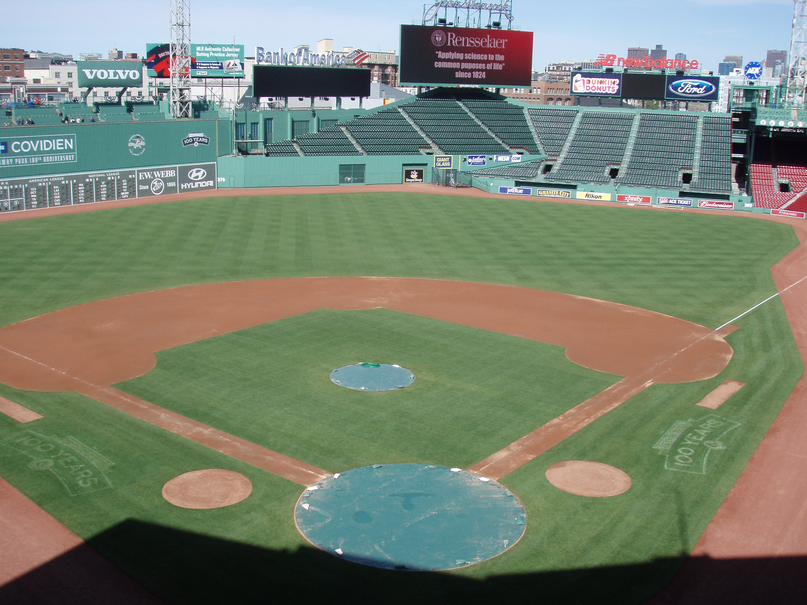 Ted Williams Angling collection at Fenway Park