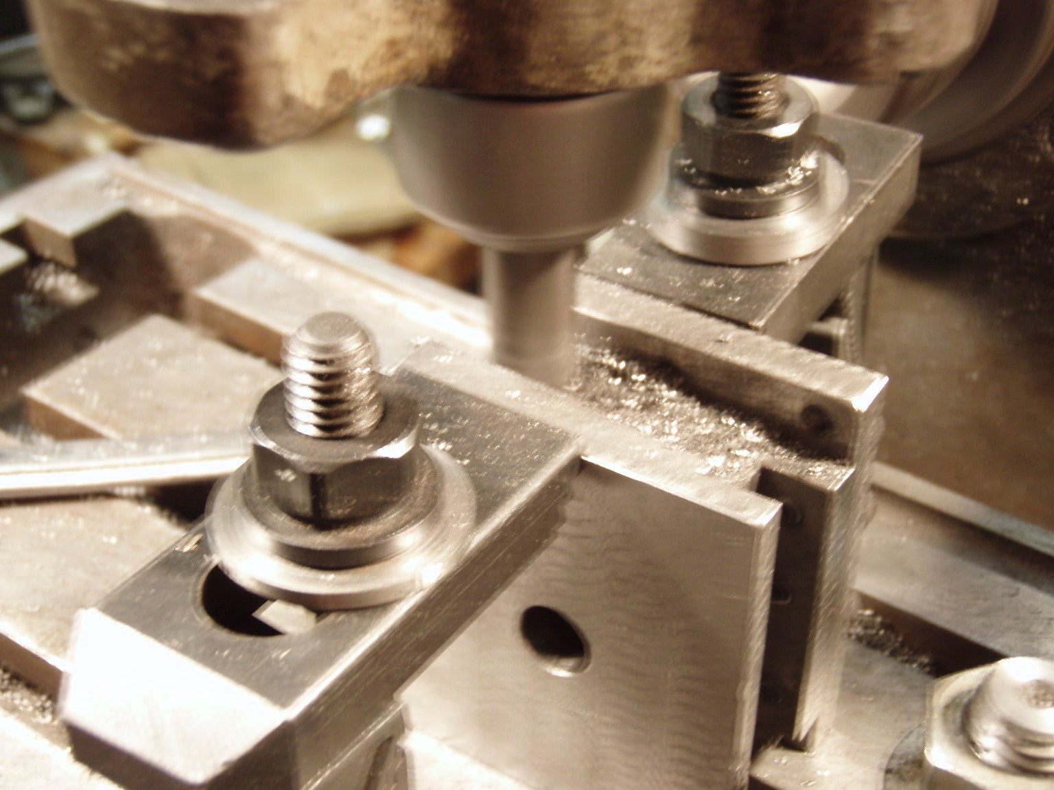 Marc Aroner Machining Tool Post