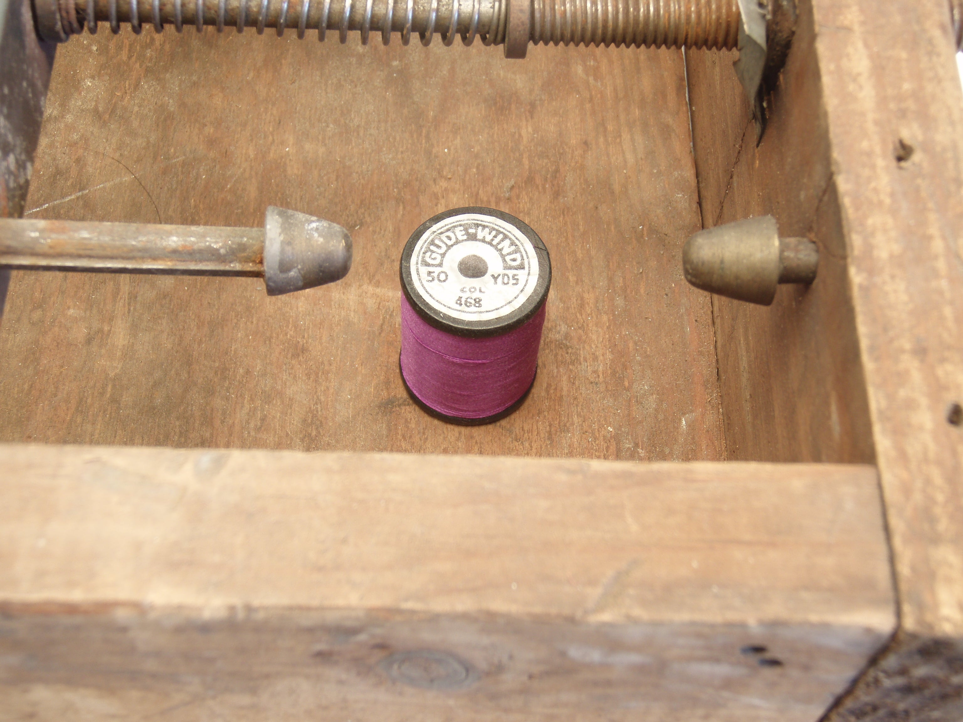 Montague Fly Rod Winding Box 3