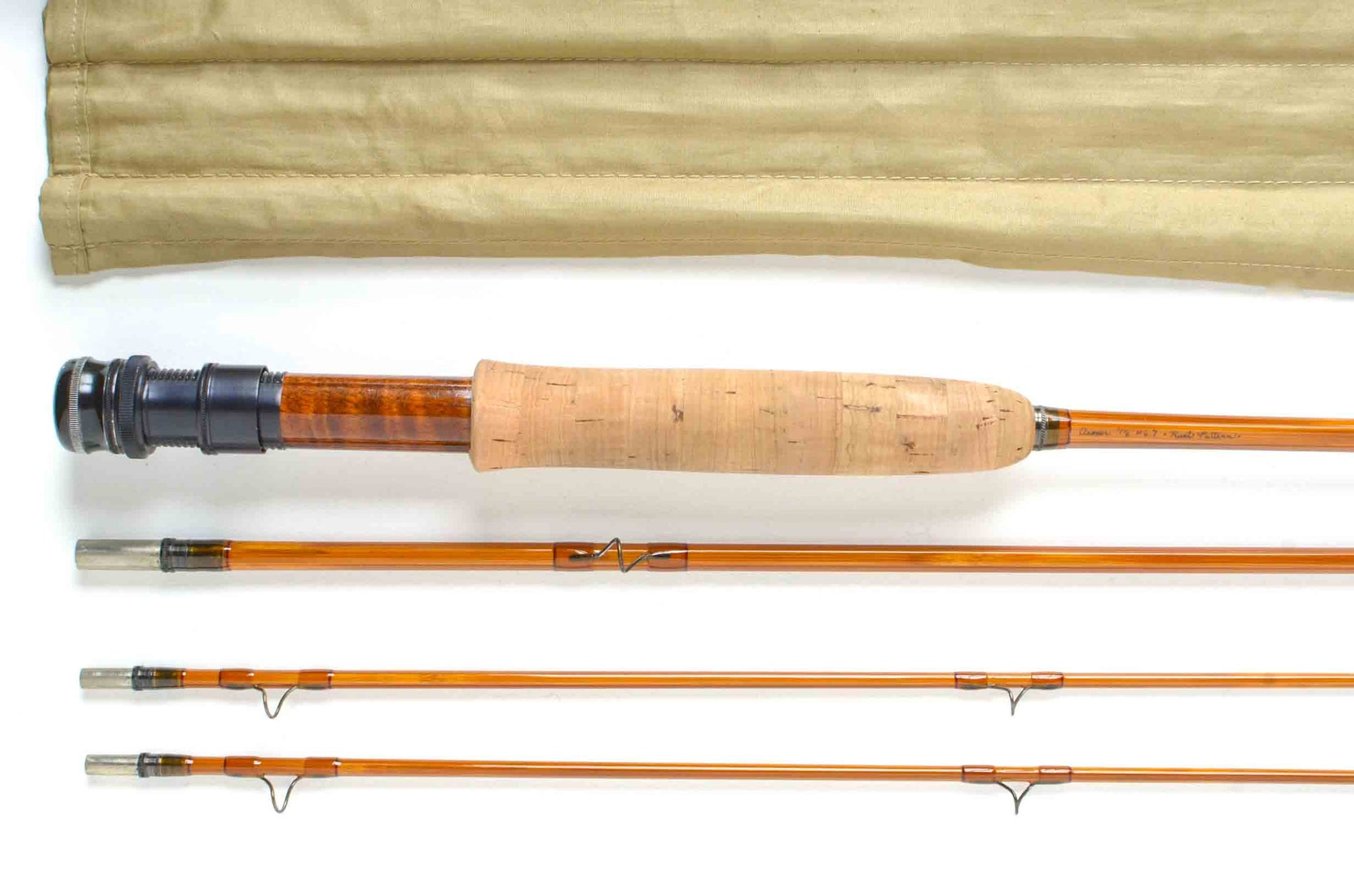 "Aroner 7'6"" 3/2 #6/7 Hunt Pattern Fly Rod"