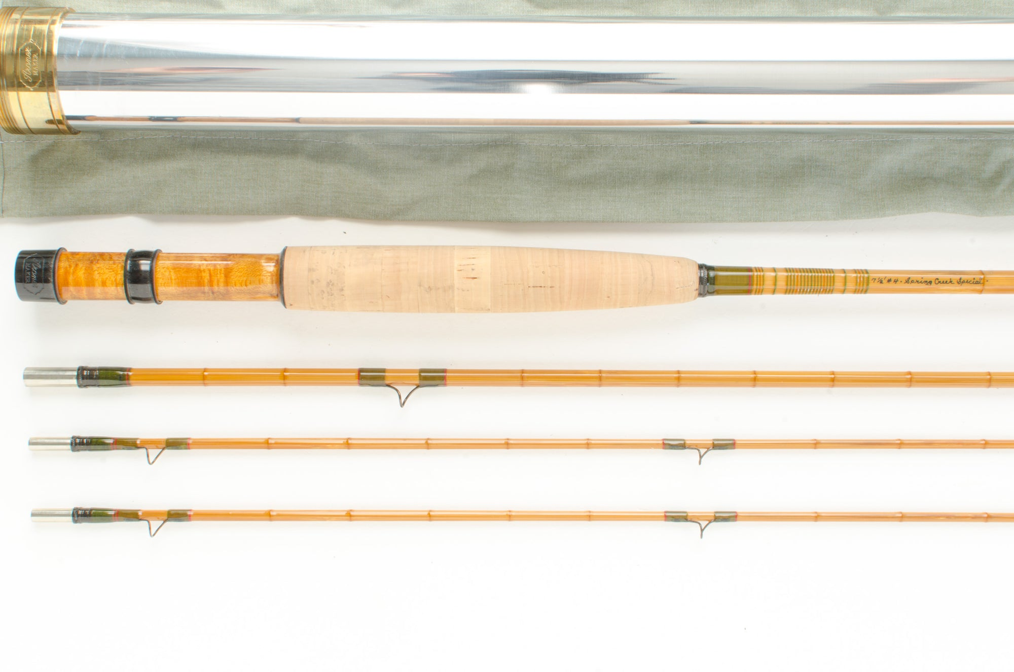 "Aroner Spring Creek Special Fly Rod 7'6"" 3/2 #4"