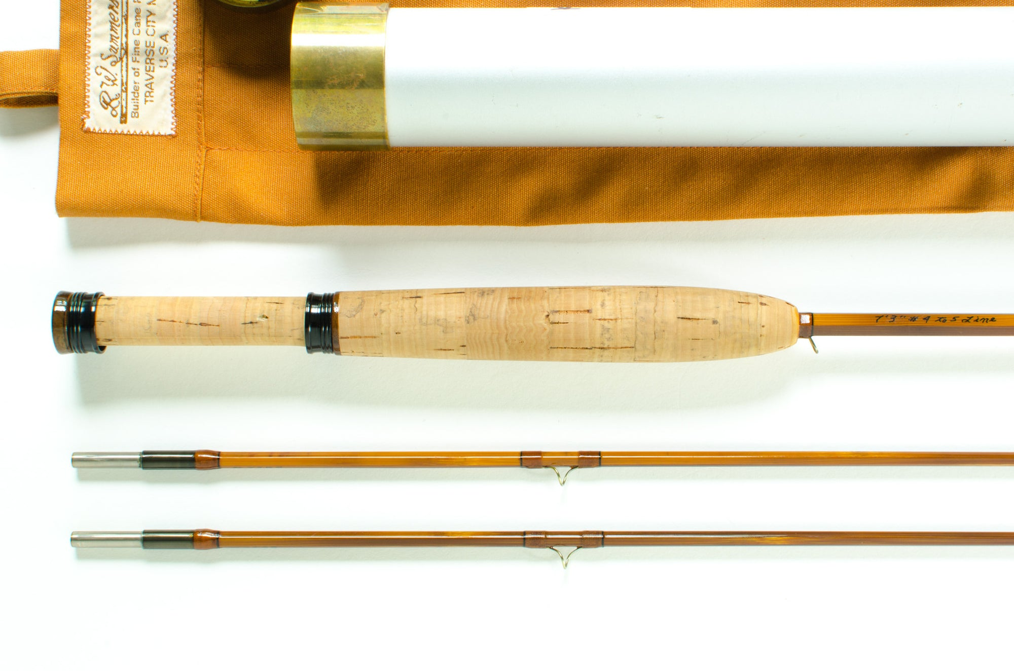 "Bob Summers Fly Rod 735 7'3"" 2/2 #4-5"