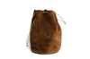 Bogdan Leather Reel Bag Brown